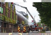 The Mall Walthamstow fire