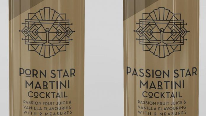M&S porn star martini portman group