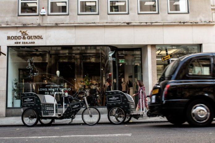 Rodd & Gunn opens debut European store in Conduit Street,. Mayfair, London