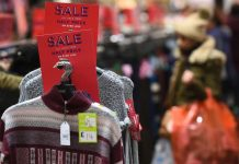 Shop prices fall for the 6th month in a row