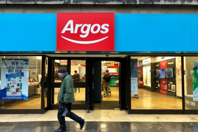 Argos Christmas strike