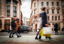 Retail Traffic Index for July shows increase in monthly footfall figures but decline in year-on-year figures