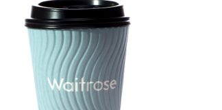 Waitrose coffee cups