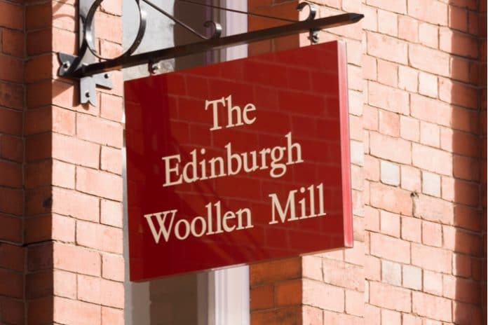 Bonmarché Philip Day Edinburgh Woollen Mill administration Parkash Singh Chima Helen Connolly