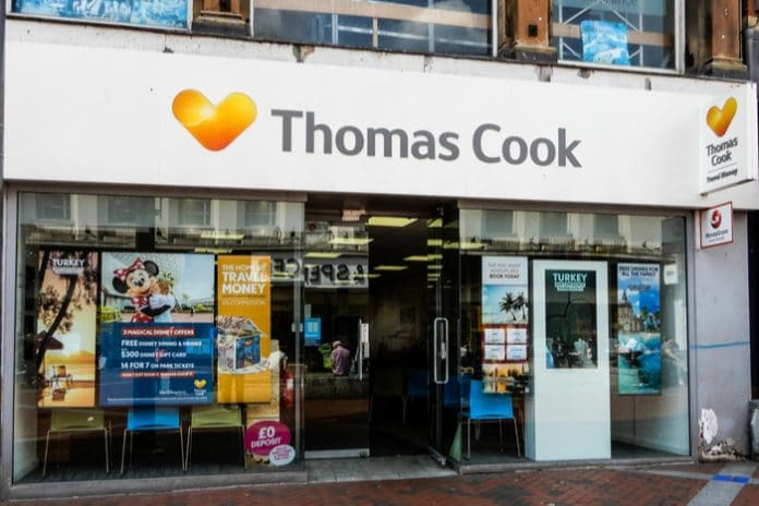 600 Thomas Cook high street stores shut down amid company collapse