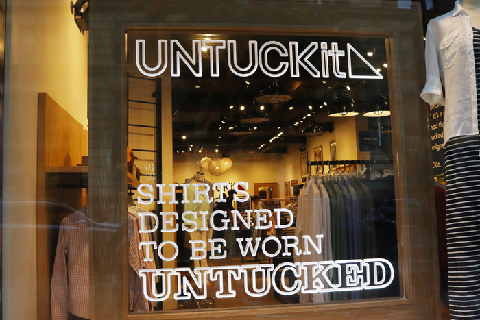 Aaron Sanandres Untuckit expansion new store opening