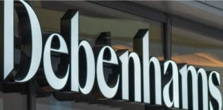 Debenhams shares