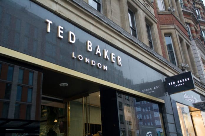 Ted Baker shares