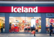 Iceland plastic packaging Christmas range Richard Walker