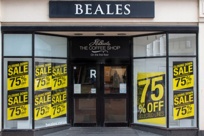 Beales paying £1m more in business rates than it should be