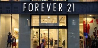 Forever 21 administration stores US