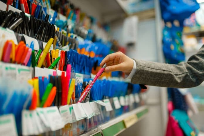 Stationery retail store closures administration