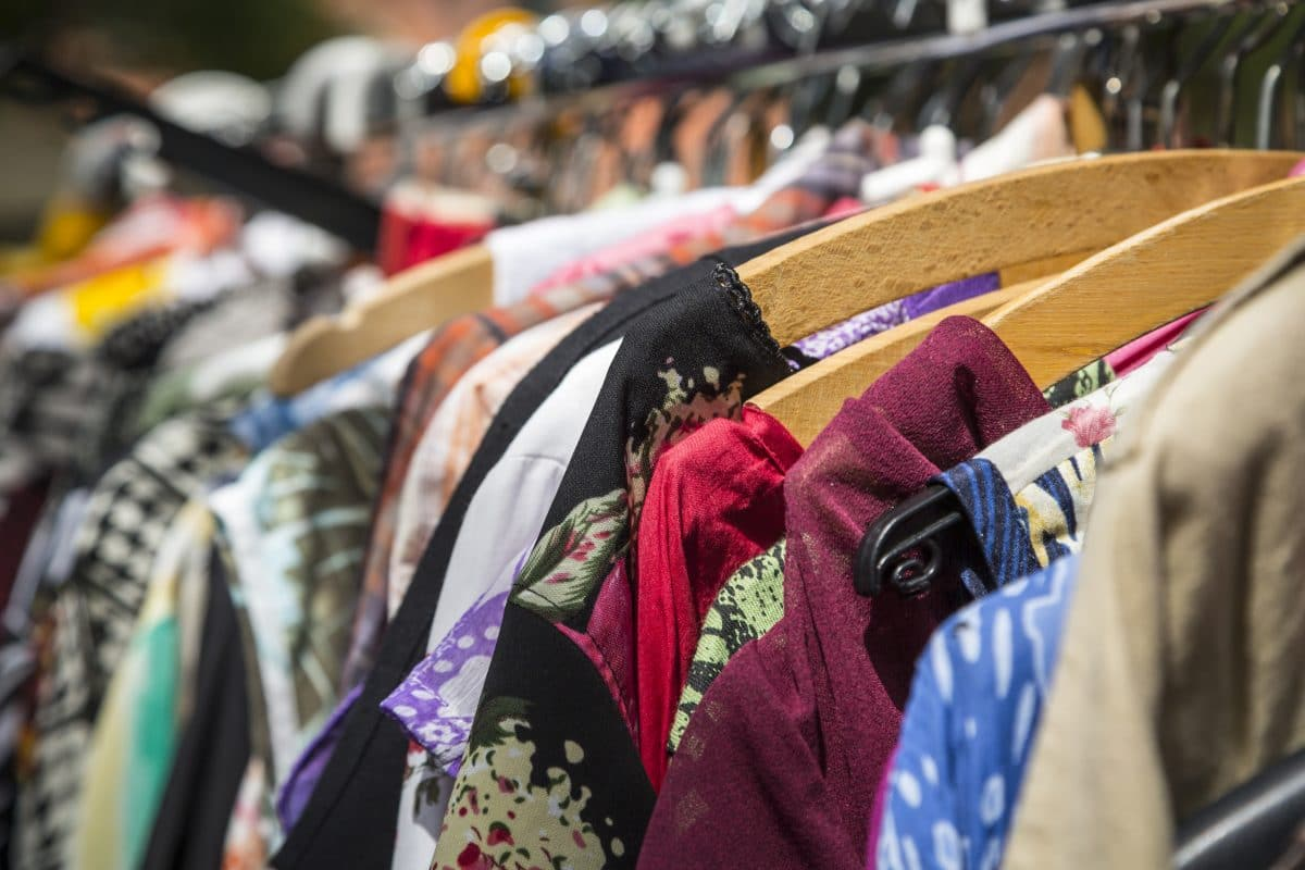 Second-hand September fast fashion recycling thrift stores sustainability eco-friendly Oxfam