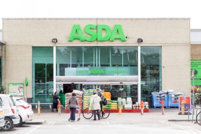 Asda sales rise