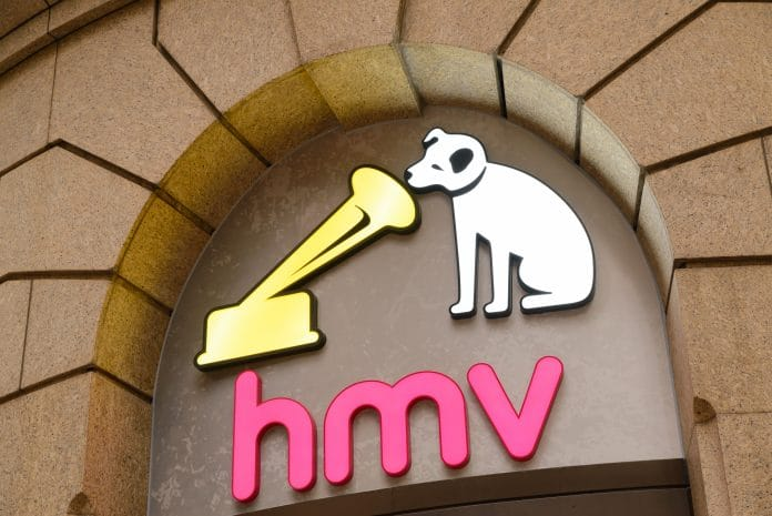 HMV Doug Putman Sunrise Records administration The Vault flagship Hammerson