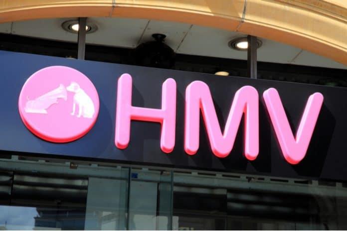 HMV administration Doug Putman Sunrise Records Flagship The Vault