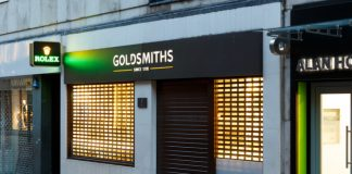 Goldsmiths float