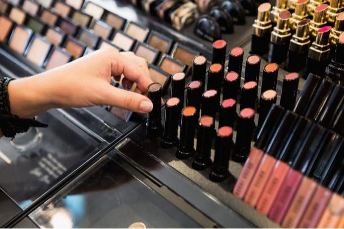 Beauty concept store boutique cosmetics