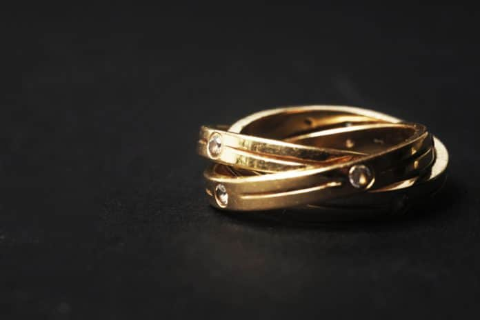 Gold jewellery British Hallmarking Council
