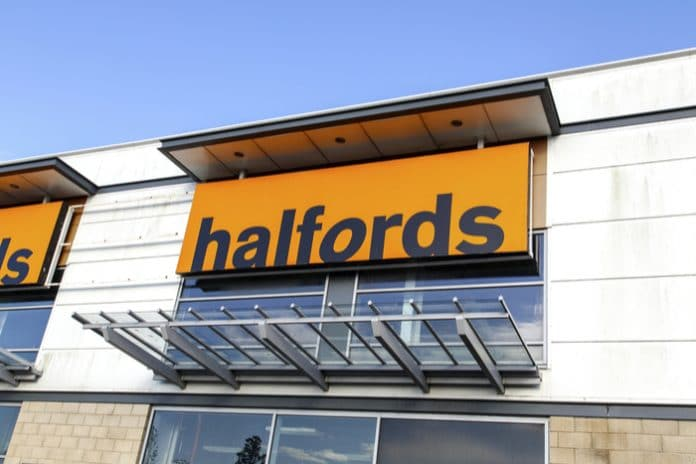 Halfords update