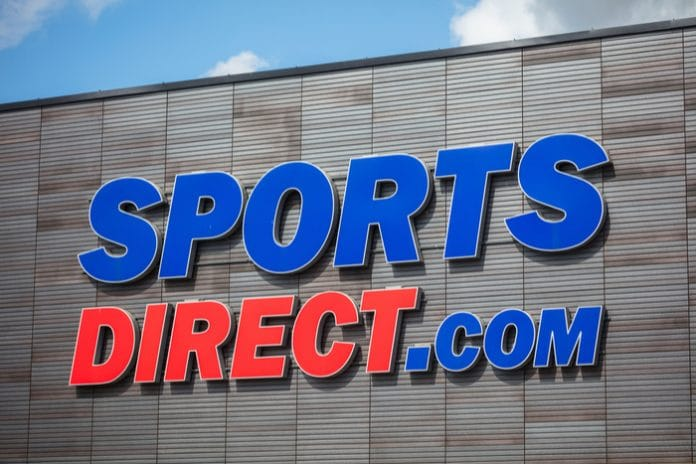 Sports Direct shares