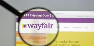 Wayfair shares