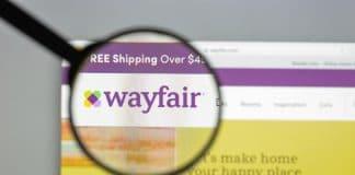 Wayfair shares