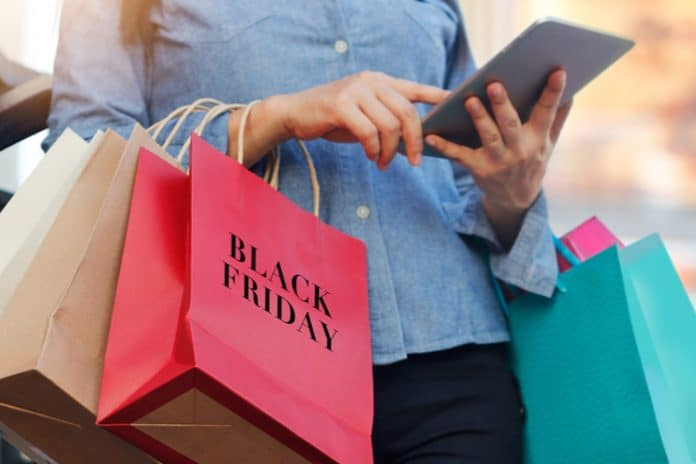 Black Friday footfall