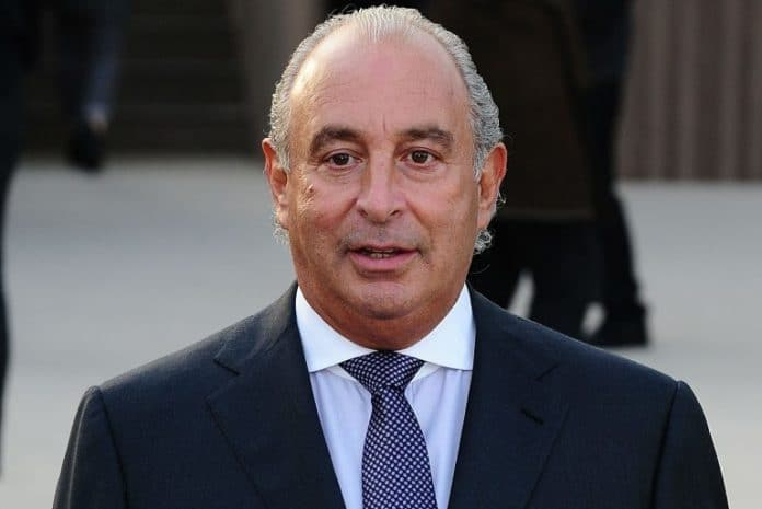 Sir Philip Green Arcadia