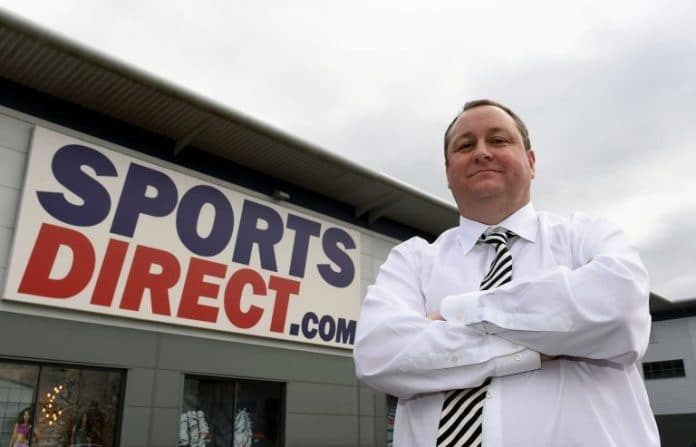 Mike Ashley Nike Adidas Sports Direct