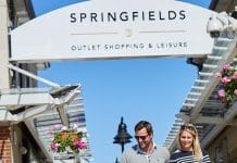 Springfields outlet leisure Ian Sanderson Simon Stone JLL