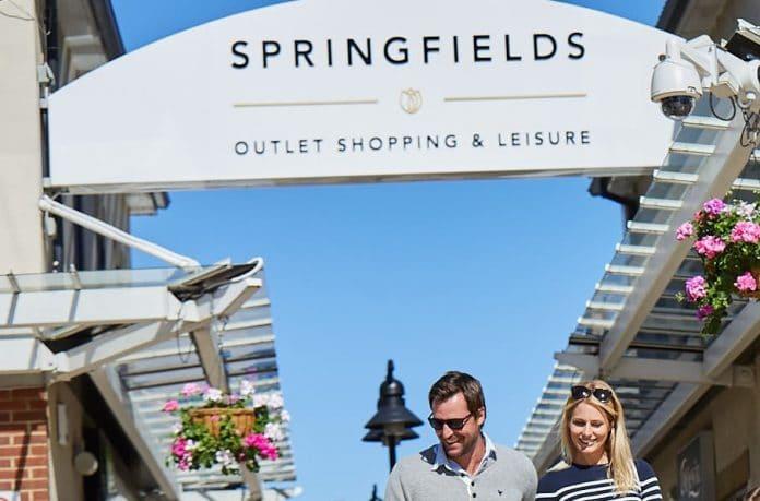 Springfields outlet leisure Ian Sanderson Simon Stone JLL