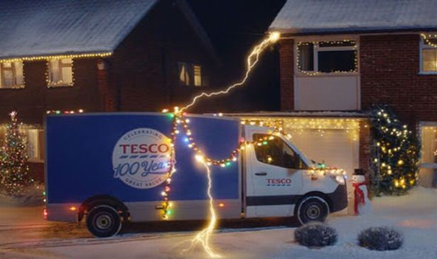 Tesco's time-travelling Christmas advert will celebrate its 100th anniversary