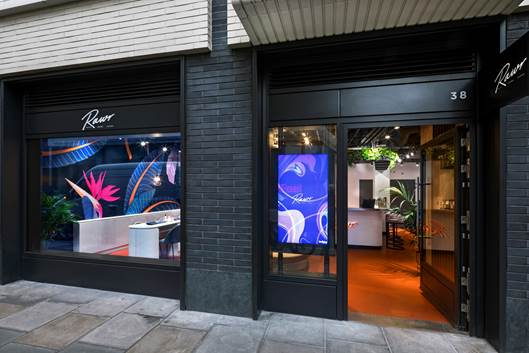 RAWR, formerly known as Lashious Beauty, is opening the doors of its flagship store on London's Rathbone Place. The opening follows a launch party which featured a performance from British rapper, singer, and songwriter Stefflon Don.