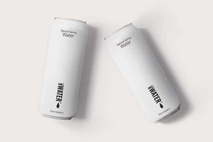 Tesco water cans