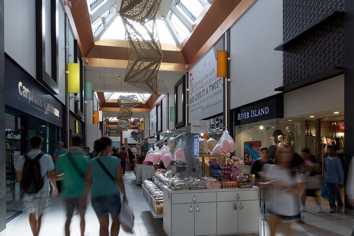 The Mall Walthamstow Reopens For Business After July Fire